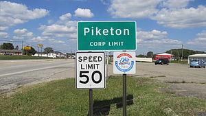 Piketon, Ohio - Image: Piketon OH1