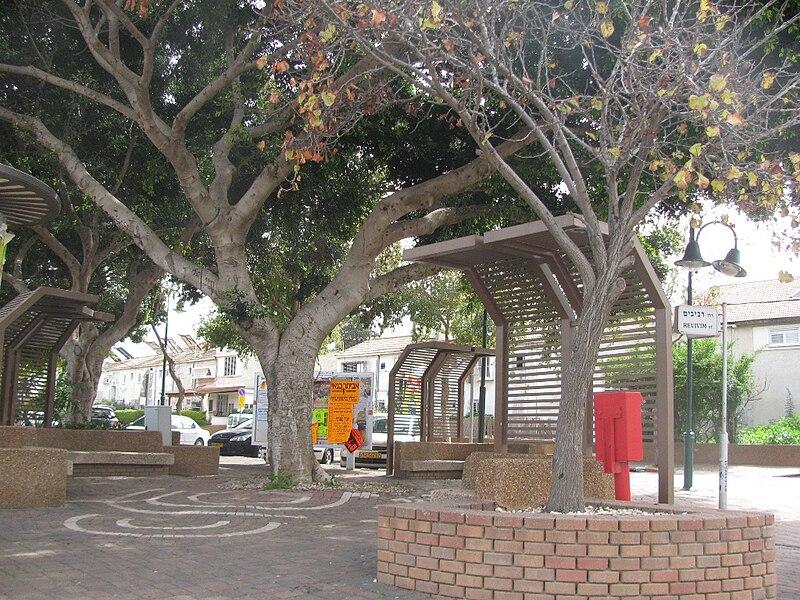 נוף עירוני בהרצליה