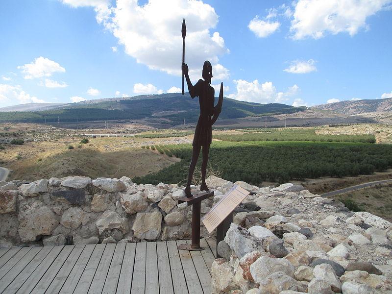 File:PikiWiki Israel 33261 Hatzor archeological site upper galilee.JPG