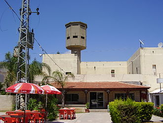 Majd al-Krum - British Mandate-era police fort in Majd al-Krum, 2008