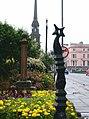 Pillar and post, Main Street, Ayr - geograph.org.uk - 517089.jpg