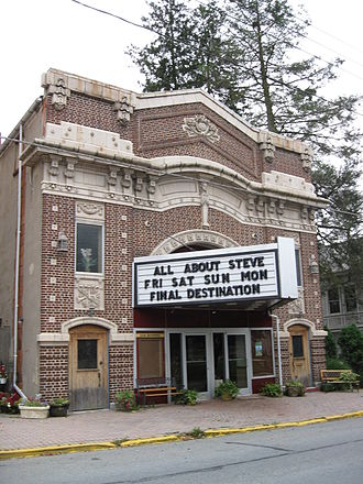 All About Steve - All About Steve playing at a theater in Pine Grove, Schuylkill County, Pennsylvania.