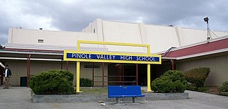 Pinole Valley High School - Image: Pinole VHS