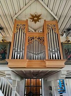Pinzberg-Dobenreuth, Hl. Familie, Orgel (2).jpg