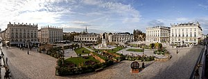 Place Stanislas - Panorama of Place Stanislas in 2014