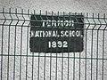 Plaque, Termon National School - geograph.org.uk - 1805742.jpg