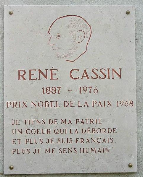 File:Plaque René Cassin Rueil.jpg