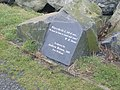 Plaque about sculpture - geograph.org.uk - 663433.jpg