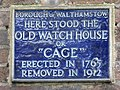 Plaque on the Vestry House Museum - geograph.org.uk - 900040.jpg