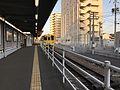 Platform of Imari Station (JR).jpg
