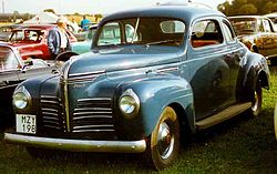 Plymouth Roadking Business-Coupé (1940)