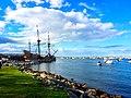 Plymouth Village Historic District, Mayflower Replica.jpg