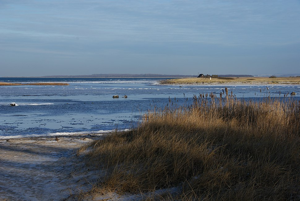 Poel Island Baltic Sea in winter 1