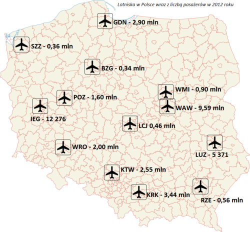 Poland airports 2012.png