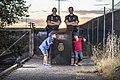Policia nacional con niños de síndrome de down.jpg