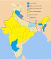 Political presence of INC across states of India.png