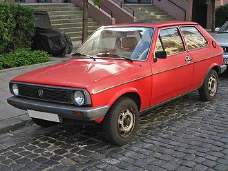 Volkswagen Polo - 1979 Volkswagen Polo Mk1 facelift