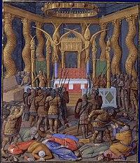 Pompée dans le Temple de Jérusalem