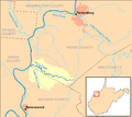Pond Creek WV map.png