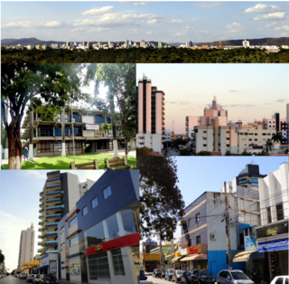Unaí Municipality in Southeast, Brazil