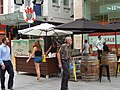 Pop up drink stall, Rundle Mall.jpg