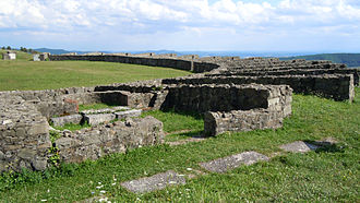 Porolissum - The temple of Nemesis
