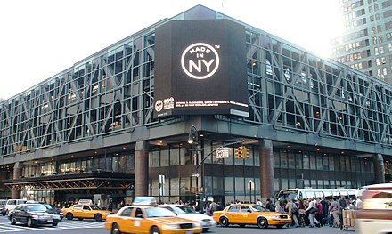 The Port Authority Bus Terminal, the world's busiest bus station, at 8th Avenue and 42nd Street. Port-authority-terminal.jpg
