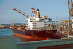 Port of Melbourn -1987, rear view of the container ship Sydney Express.png