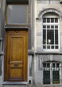 Avenue jef lambeaux wikimonde for Architecture eclectique