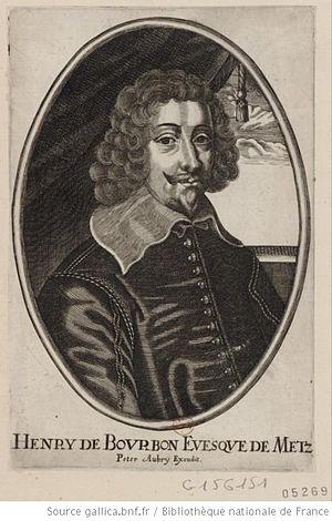Henri, Duke of Verneuil - Portrait as bishop