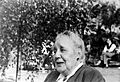 Portrait of Melanie Klein, taken outdoors Wellcome L0018668.jpg