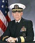Portrait of US Navy Rear Admiral (lower half) William J. McCarthy.jpg