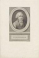 Portret van Johannes Henricus Midderigh, RP-P-OB-62.844.jpg