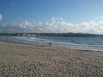 Portrush - Portrush's West Strand Beach.