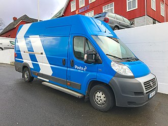 Posta (company) - A Posta delivery van in the capital.