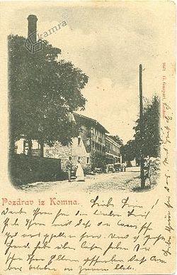 Postcard of Komen 1900.jpg