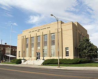 United States Post Office–Blackfoot Main United States historic place