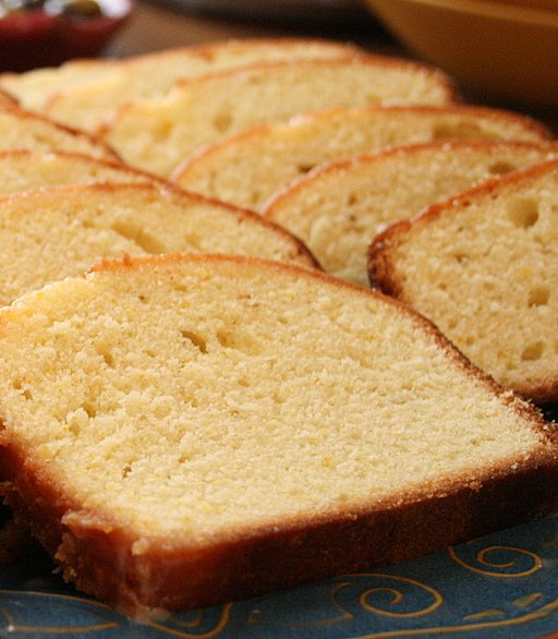 Pound cake, September 2007 (cropped)