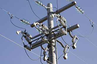 Forensic electrical engineering - Image: Power pole