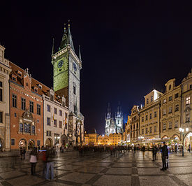 Prague Old Town Square, Czech Republic - Oct 2010.jpg