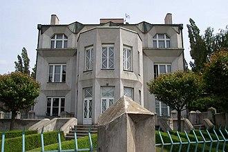 Czech Cubism - Cubist villa, Prague, Czech Republic