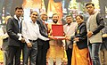 Prakash Javadekar presented the awards, at the National Convention of Student Volunteers under Digital Financial Literacy Campaign, organised by the Ministry of Human Resource Development, in New Delhi (1).jpg