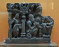 Prediction of Asita - Schist - ca 2nd Century CE - Gandhara - Loriyan Tangai - ACCN 5041-A23254 - Indian Museum - Kolkata 2016-03-06 1476.JPG