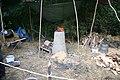 Prehistoric Experimental Iron Smelting - geograph.org.uk - 998084.jpg