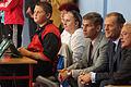 Premier Donald Tusk i Robert Korzeniowski jako widzowie rozgrywek młodych sportowców (6166014581).jpg