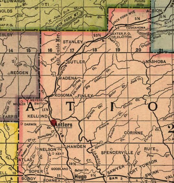 Antlers, Oklahoma - Wikipedia on san joaquin valley railroad map, stillwater central railroad map, ventura county railroad map, housatonic railroad map, austin western railroad map, canadian railroad map, kansas pacific railroad map, iowa traction railroad map, arkansas and missouri railroad map, alaska railroad map, timber rock railroad map, central pacific railroad map, mid-michigan railroad map, fort smith railroad map, delaware railroad map, california northern railroad map, new england central railroad map, union pacific railroad map, green mountain railroad map, cimarron valley railroad map,