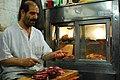 Preparing lamb liver kebab... (2044763748).jpg