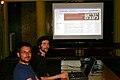 Presentation on International Yiddish Seminary in Śródborów 2007.jpg