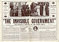 Press sheet for THE INVISIBLE GOVERNMENT, 1913 (Page 1).jpg