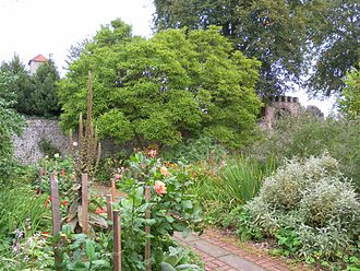 Preston Manor, Brighton - Extensive gardens have been retained and restored to their Edwardian appearance.